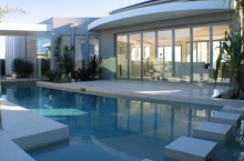 Formal Pool with Stepping Blocks Sunshine Coast